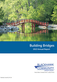 Blackhawk Community Credit Union 2013 annual report