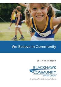 Blackhawk Community Credit Union 2011 annual report