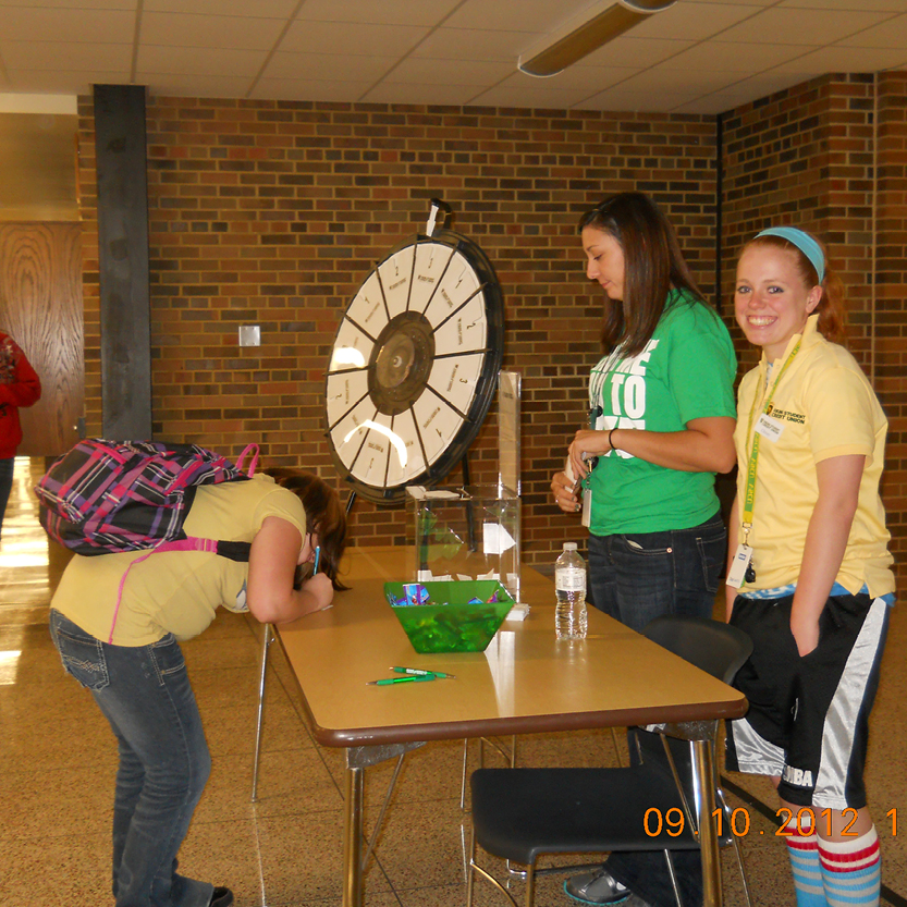 Games at the Viking Student Credit Union