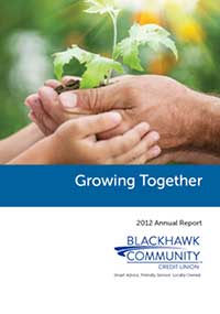 Blackhawk Community Credit Union 2012 annual report
