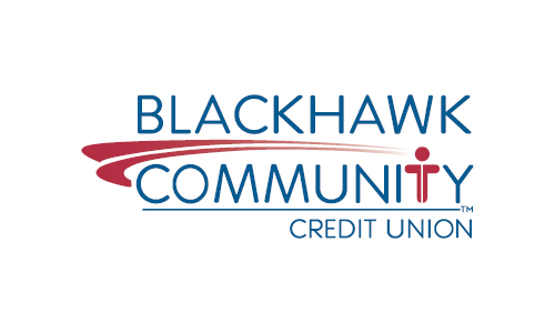 Blackhawk Community Credit Union old logo, 2000s