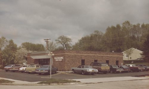 Blackhawk Community Credit Union in the 1980s