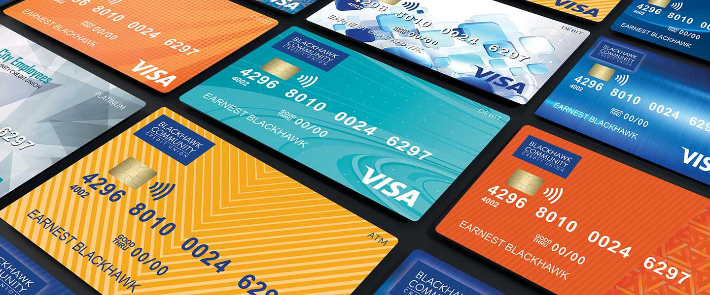 VISA® Credit Cards at Blackhawk Community Credit Union. Local First credit card.