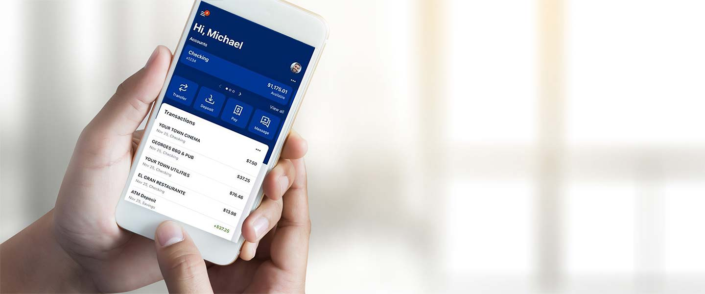 Online banking and our mobile app make accessing your accounts easier