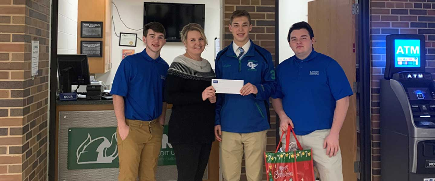 Blackhawk Community Credit Union student branches in Janesville Parker and Craig High Schools