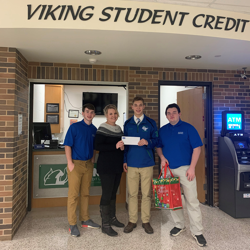Gift of Giving at the Viking Student Credit Union