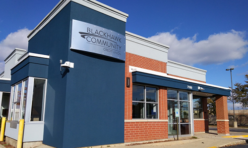 Blackhawk Community Credit Union 2010s History. Kenosha 75th street branch