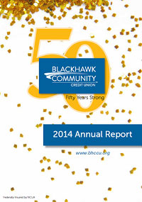 Blackhawk Community Credit Union 2014 annual report